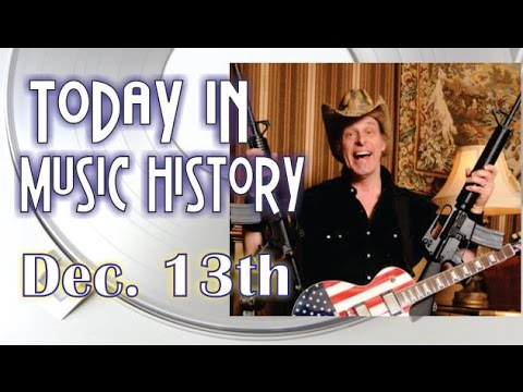 Today in Music History - December 13th