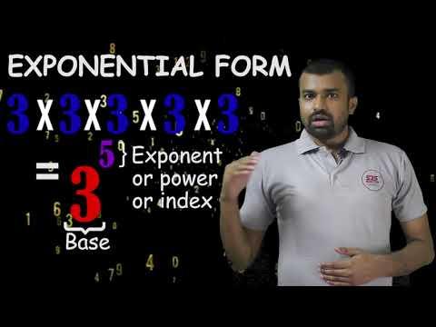 Class 8 Maths Ch 12 - Exponents I Exponential Form I Introduction I Basics I Mathematics I NCERT