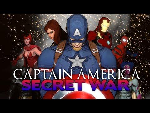 Captain America: Secret War - Full Movie [SFM ANIMATION]