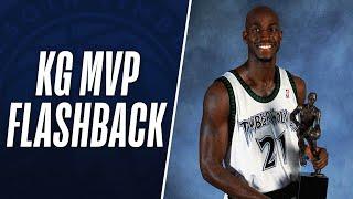 Flashback to Kevin Garnett's MVP Season