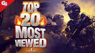 TOP 20 Most Viewed CS GO Twitch Clips of 2019