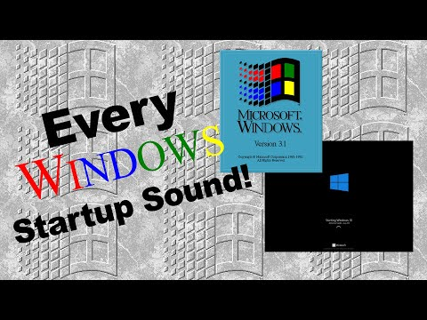The History of Windows Startup Sounds