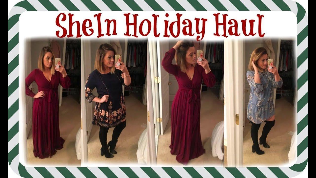 fd57203878cc 2017 Clothing Haul | SheIn Winter Picks - YouTube