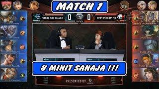 8 Minit Sahaja !! Sabah Top Player vs Evos SG MATCH 1 - MPL MY/SG SEASON 4