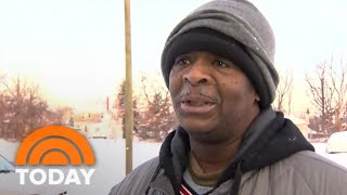 Man Who Walks 21 Miles To Work Receives 100k In Donations | TODAY