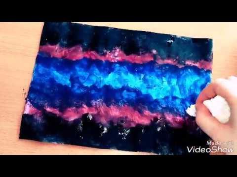 Kolay Suluboya Kendin Yap Diywatercolor Youtube