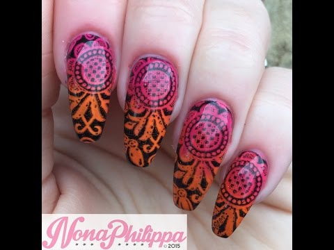 How To Stamp With Gel Polish