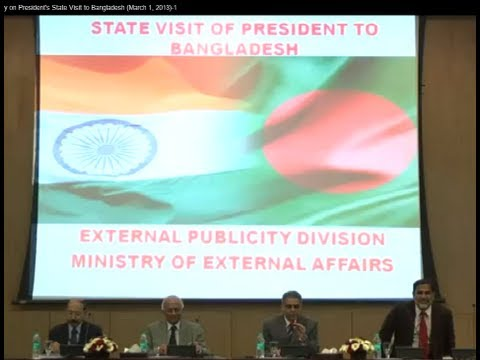 Media briefing by Foreign Secretary on President's State Visit to Bangladesh (March 1, 2013)-1