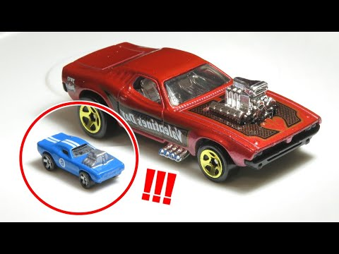 This is the World's Smallest Hot Wheels car (only 5mm height!)