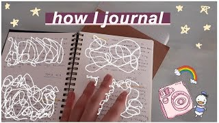 ☺ How I Journal (3 Ways!) ☺