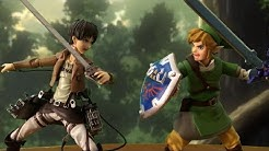 Attack on Titan Stop Motion: Eren VS Link