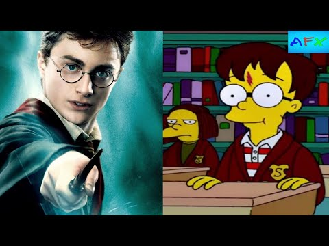"""Harry Potter"" References In Film/Television SUPERCUT By AFX"