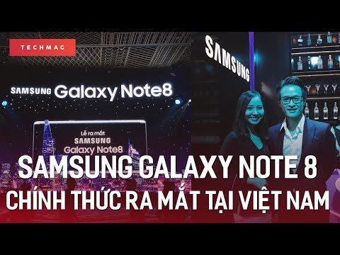Samsung Galaxy Note 8 chính thức ra mắt tại Việt Nam giá 22.490.000 đồng