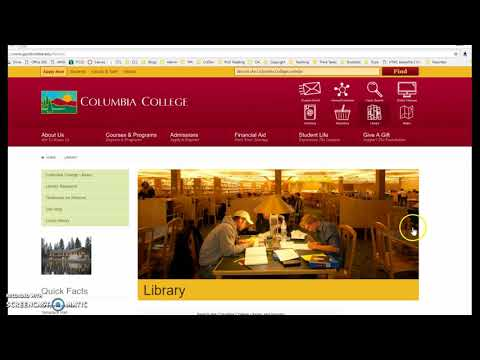 Columbia College Library - Introduction