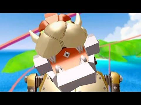 Super Mario Sunshine - All Bosses