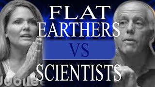 Flat Earthers VS Scientists - Inside The Mind Of Stupid - Flat Earth Fails