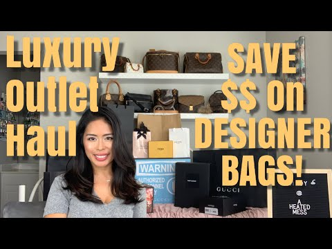 Woodbury Common Premium Outlets - Discount Luxury Shopping Haul And Money Saving Tips