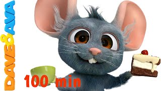 Download Hickory Dickory Dock | Nursery Rhymes Compilation | YouTube Nursery Rhymes from Dave and Ava Mp3 and Videos