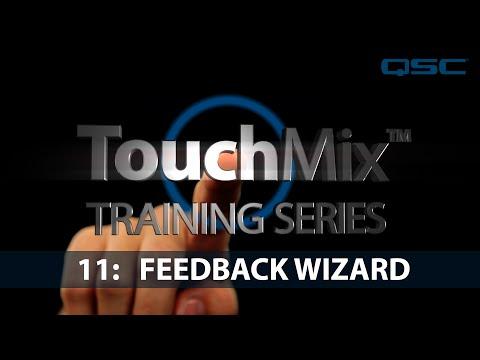 QSC TouchMix-30 Training 11: Anti-Feedback Wizard (English)