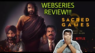 SACRED GAMES SEASON 2 REVIEW