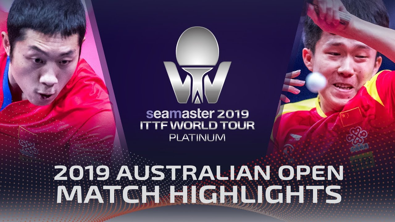 Xu Xin vs Wang Chuqin | 2019 ITTF Australian Open Highlights (Final)
