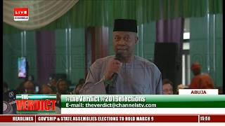 INEC Chairman Interacts With Stakeholders Over Election Postponement