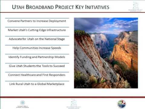 Utah Broadband Advisory Council July 2014 Video
