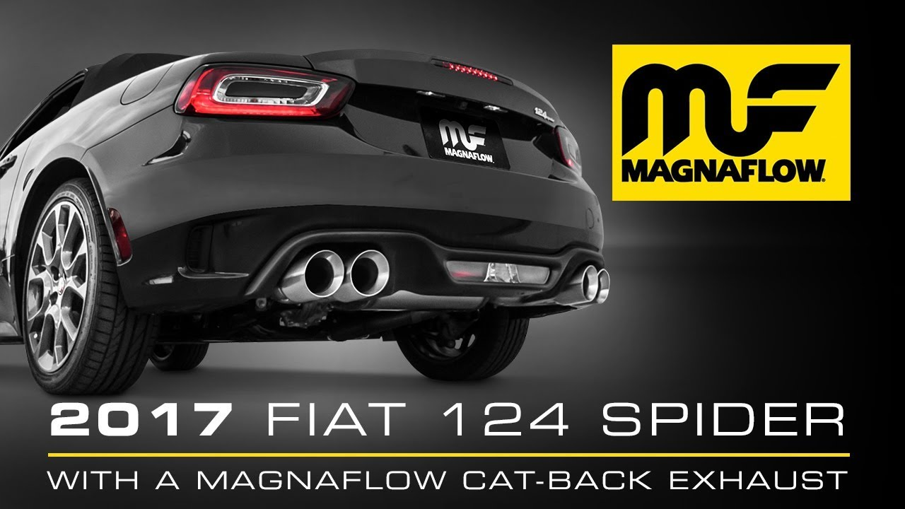 2017 Fiat 124 Spider With Magnaflow Cat Back Exhaust