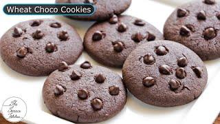 No Maida Chocolate Chip Cookies Recipe | Eggless Choco Chip Cookies Recipe ~ The Terrace Kitchen