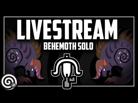 LIVESTREAM - Light Bowgun vs Behemoth SOLO | Monster Hunter World