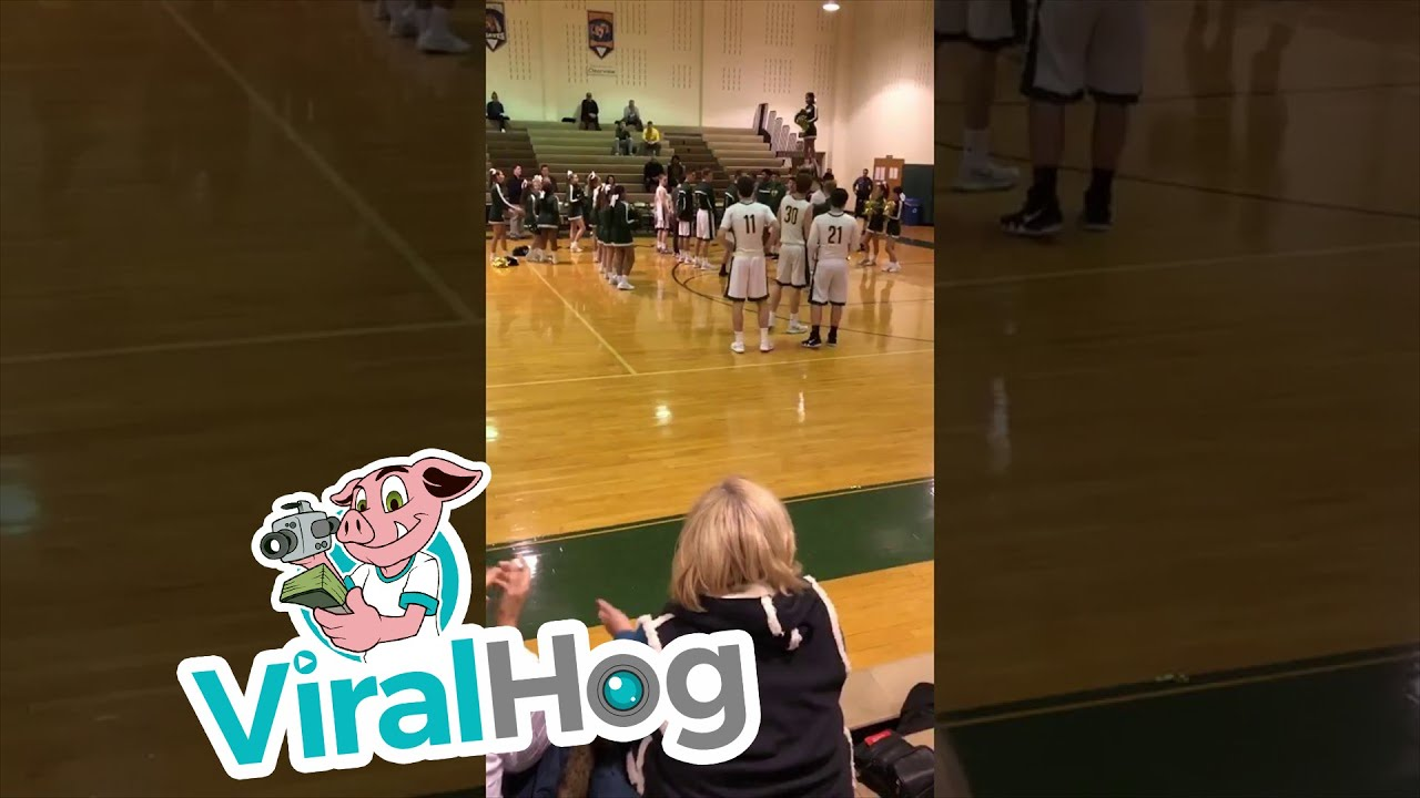Funny Video: Pumped Up High School Basketball Announcer