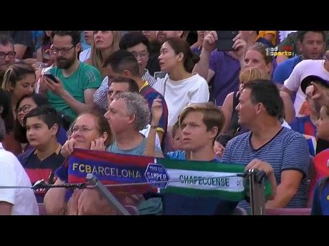 Barcelona Vs Chapecoense - Live