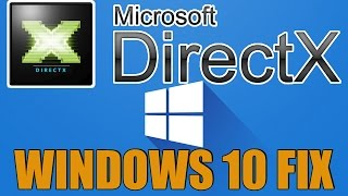 Windows 10 How To Install DirectX & Fix DirectX Errors