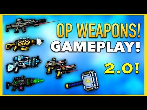 Pixel Gun 3D - OP Weapon Gameplay 2.0!