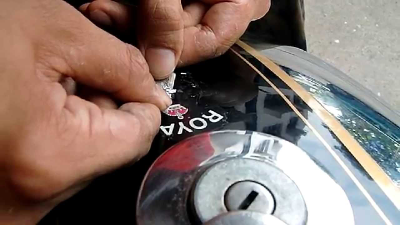 Shave It Baby Or How To Remove Stickers From Your Motorcycle - Classic motorcycle custom stickers