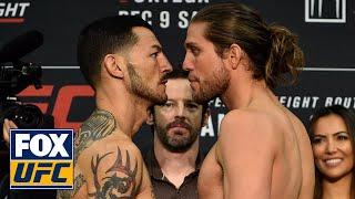 Brian Ortega vs Cub Swanson | Weigh in | UFC FIGHT NIGHT