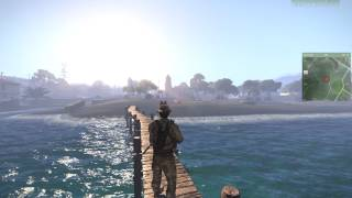 Agia Marina time lapse. Arma 3 is very cool.