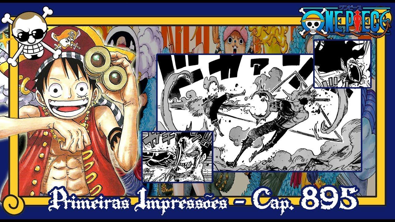 One Piece #895 - O Senhor das Cobras!! [Primeiras Impressões] - YouTube