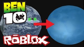 NEW PLANET AND SPACE TRAVEL! Roblox Ben 10 Arrival of Aliens