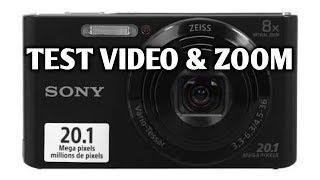 SONY CYBERSHOT DSC-W830 Digital Camera Review dan Test Zoom