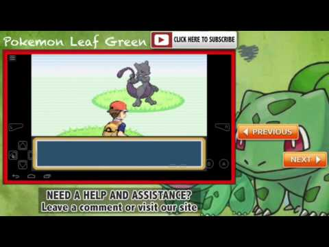 Pokemon Leaf Green - Legendary Pokemon Cheat