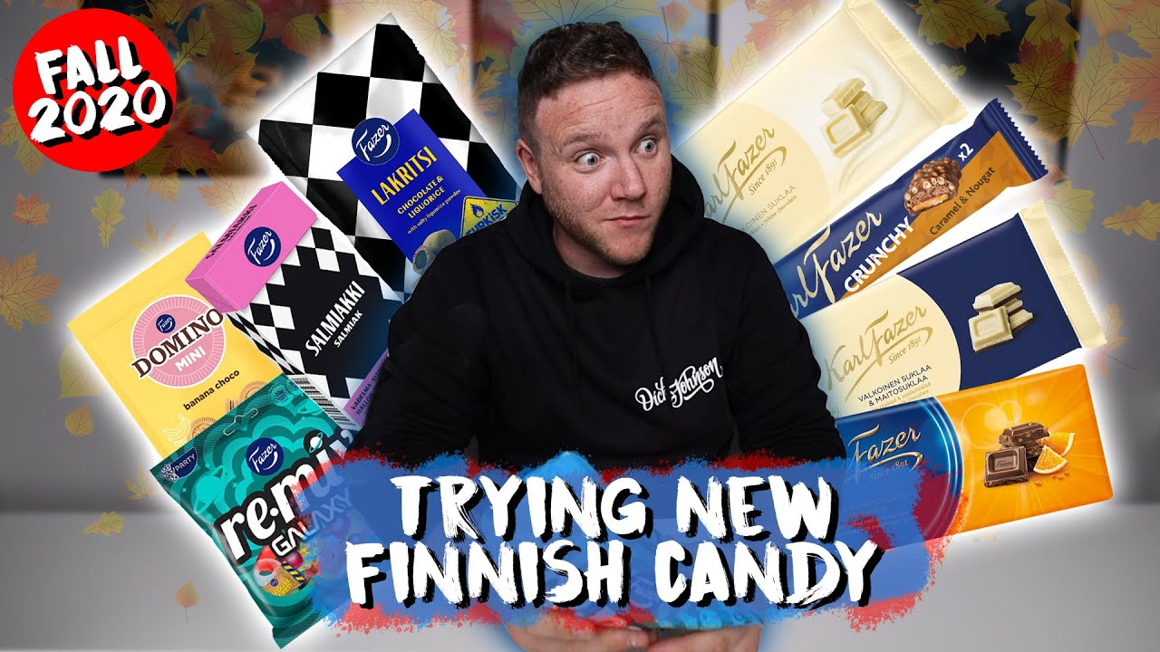 Trying NEW FINNISH Candy | Fall 2020 | Taste Test Tuesday