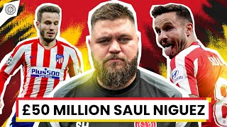 Manchester United Ready To Bid £50 Million For Saul Niguez! | Howson's Brew