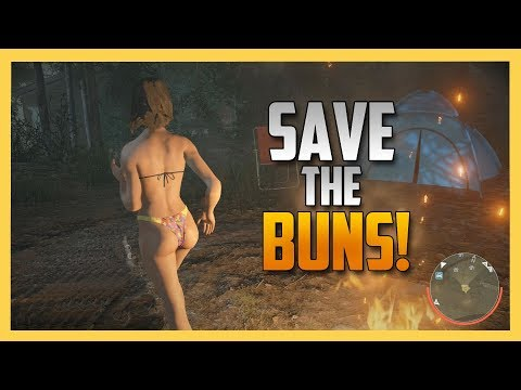 Save The Buns! - New DLC for Friday the 13th The game!