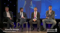 BlockchainUA. Panel discussion: Regulation of Bitcoin and Blockchain in Ukraine