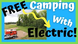The Best Free Camṗing in Wisconsin?!?! We Love it! / 3 Night Stay / Drone Footage