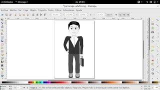Inkscape | Animación empresario