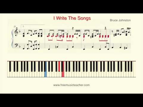 How To Play Piano: Bruce Johnston