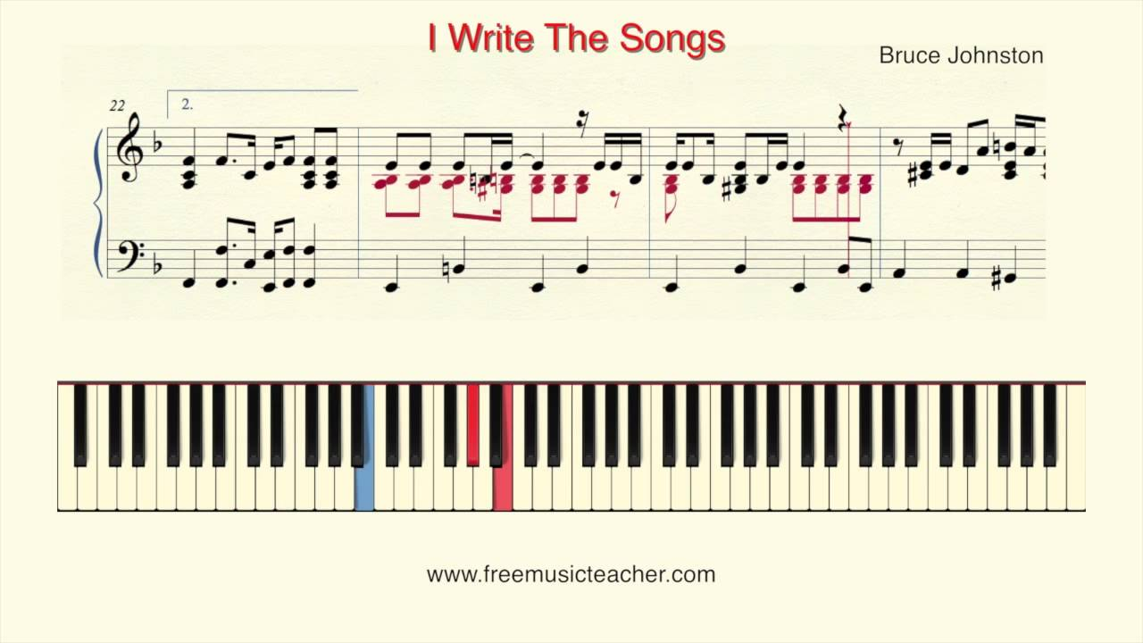How to Write a Song for Piano