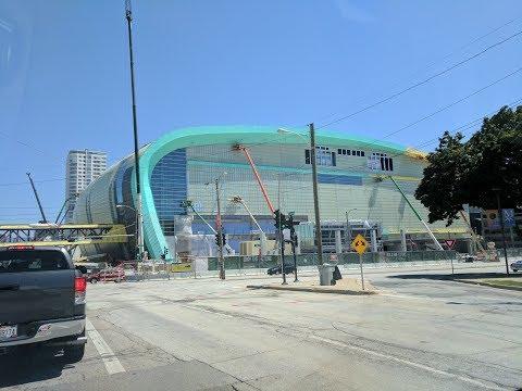 Progress update, tour of new Bucks arena